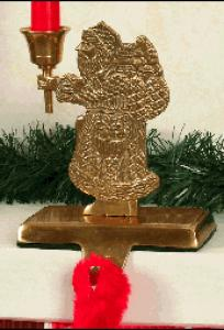 New #40-0506 Santa Candle & Stocking Holders Available In Four Different Styles
