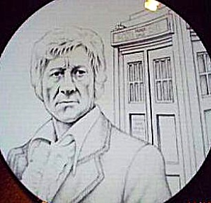 Dr. Who The Third Doctor Jon Pertwee 1970-'74 Royal Albert Bone China Bbc Pbs British