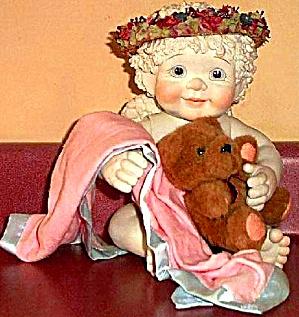 Sweet Dreams Teddy Dreamsicles Haynes 18 inches blanket stuffed bear Mail Order (Image1)