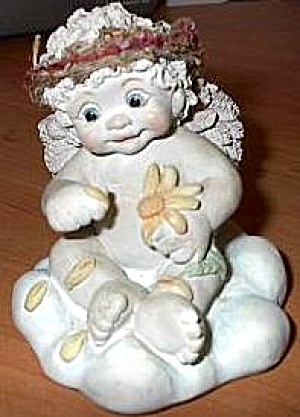 Dreamsicles Angel #10644 Loves Me Loves Me Not Figurine (Image1)