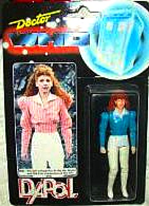 1987 Dr. Doctor Who Dapol Mel Figure Unopened Nib Nip Rare Blue 6th 7th Companion Bbc