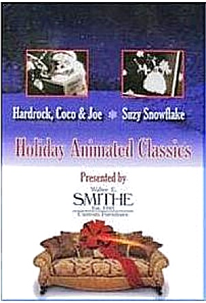 Hardrock Coco & Joe Suzy Snowflake Walter E. Smithe DVD Chicago WGN Bozo Christmas (Image1)