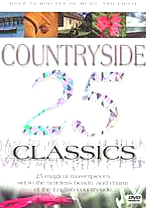25 Countryside Classics Dvd Classical Vox8823 Nature Sussex England '04 Cameo Leisure