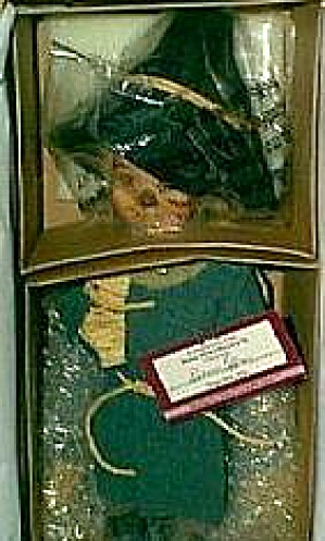 SCARECROW Dianna Effner Wizard Of Oz Ashton-Drake Porcelain 14 inch WOZ doll NRFB (Image1)