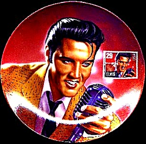 Bradex Delphi Elvis Rock & Roll Legend Stamp
