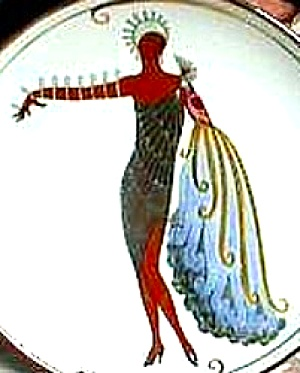 1993 Diva Ii House Of Erte Sevenarts 7 Art Deco Franklin Elegance Negro African