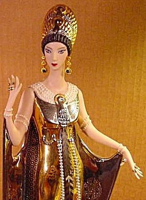 ISIS Pearls & Onyx FRANKLIN MINT Erte Figurine B11WU34 Art Deco Limited Edition Figur (Image1)