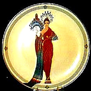 '93 Athena House Of Erte Sevenarts 7 Art Deco Franklin Elegance Romain d'Tirtoff (Image1)