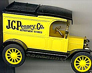 Ertl J. C. Penney Co. Department Stores Diecast 1913 Replica Ford Model T Van Iowa Ia