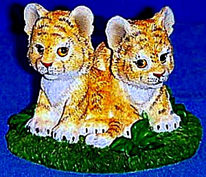 TIMID TIGERS - ENDANGERD YOUNG 'UNS Save The Earth Foundation by Ruth & Bill Morehead (Image1)