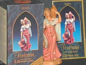 Fontanini Mara Red Club Member Only Nativity Preview E. Simonetti Italy
