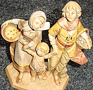 Fontanini THE PILGRIMAGE CLUB MEMBER ONLY '90 MIB W/Large Story Card Pilgrimmage (Image1)