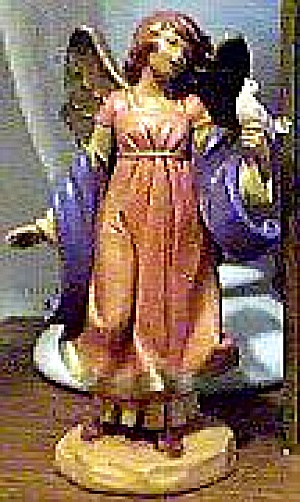 1998 CELESTE Heirloom Nativity Limited Edition ANGEL W/Dove Italy E Simonetti 3175505 (Image1)