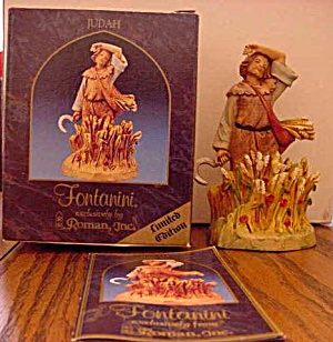 1997 JUDAH Fontanini Heirloom Nativity Limited Edition Figurine E. Simonetti (Image1)