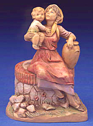 1992 Ariel Fontanini Heirloom Nativity Limited Edition Figurine E. Simonetti