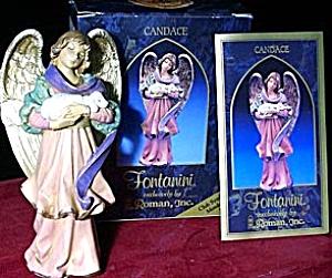 '98 CANDACE THE CAREGIVER Fontanini Club Symbol Membership Member Gift Simonetti (Image1)