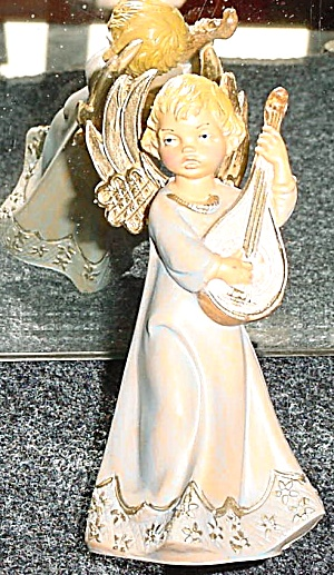 European Pastels Christmas Symphony 1993 Members' Only Angel Mandolin E. Simonetti