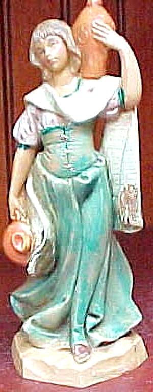 1996 MARA BLUE Club MEMBER ONLY Membership FIGURE Fontanini Nativity Preview Figurine (Image1)