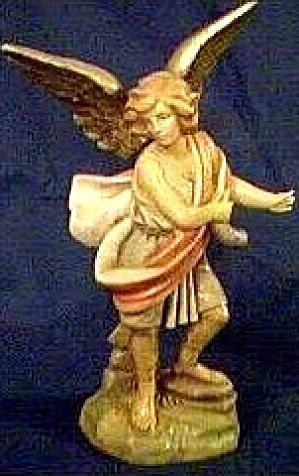 1996 RAPHAEL Fontanini Heirloom Fifth Nativity Limited Edition Angel Figure Simonetti (Image1)