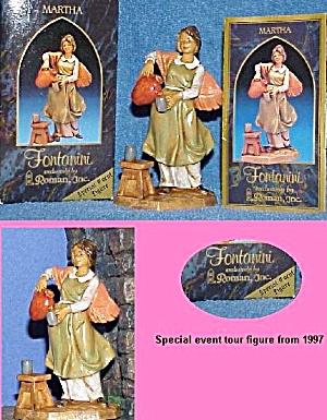 1997 MARTHA Fontanini Special Event Figurine - E. Simonetti (Image1)
