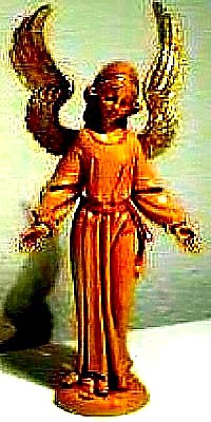 Fontanini STANDING ANGEL 5 inch RETIRED 1994 #52519 NB NC E. Simonetti Italy Nativity (Image1)