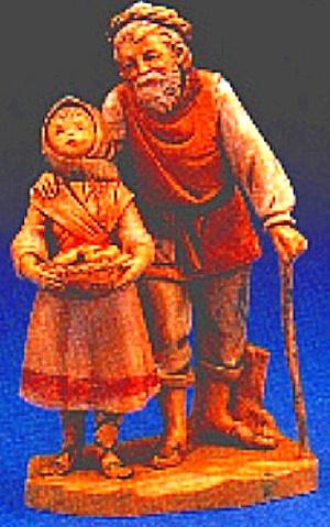 1994 ABIGAIL & PETER Heirloom Nativity Limited Edition E. Simonetti US Version (Image1)