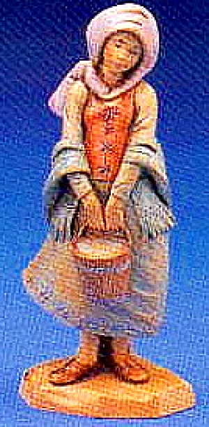 Fontanini 1995 DOMINICA 1ST SPECIAL EVENT FIGURINE MIB E. Simonetti Story Card (Image1)