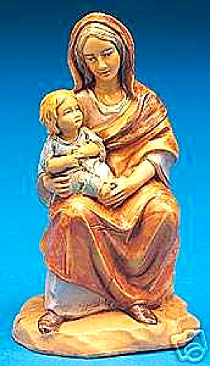 ROMAN FONTANINI Ednah with Grandchild 2002/'03 Limited Edition #65243 5 Inch Nativity (Image1)