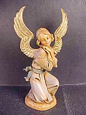Fontanini RETIRED KNEELING ANGEL NB Cherub Italy Artist:E. Simonetti (Image1)