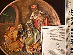 Fontanini Christmas 1988 ADORATION OF THE MAGI Roman Bradford 2004 Bradex 84-R53-12.3 (Image1)