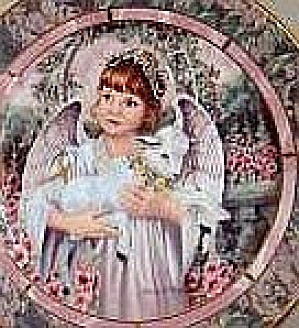 GARDENS OF INNOCENCE LOVE Angel Donna Richardson Bradex 84-B10-10.12 lamb brunette wh (Image1)