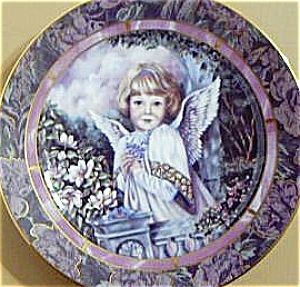 GARDENS OF INNOCENCE COMPASSION Angel Donna Richardson Bradex 84-B10-10.10 Blue birds (Image1)