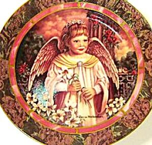 GARDENS OF INNOCENCE FAITH Angel Donna Richardson Bradex 84-B10-10.4 Easter Lillies (Image1)