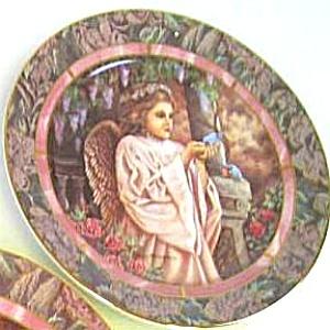 GARDENS OF INNOCENCE CHARITY Angel Art Donna Richardson Bradex 84-B10-10.2 Bluebirds (Image1)
