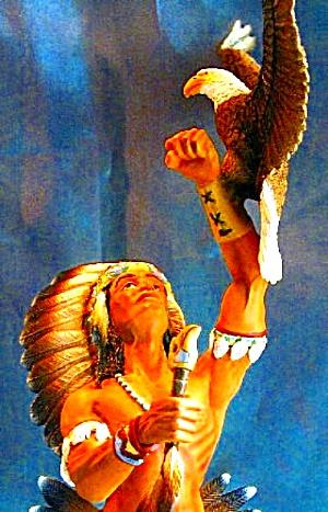 Talisman of the Buffalo Gifts of Ancient Spirits Steve Kehrli Hamilton Collection '96 (Image1)
