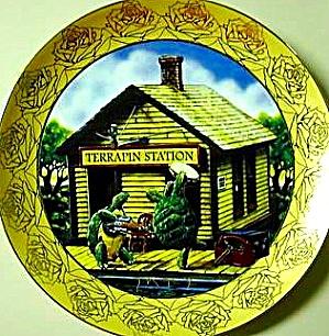 Terrapin Station GRATEFUL DEAD Alton Kelley Stanley Mouse Signature Album Cover 70's (Image1)