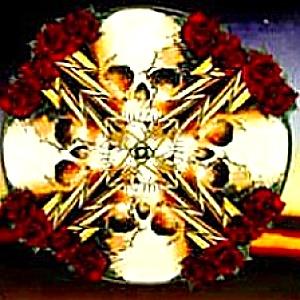 '98 Grateful Dead Art Series Stanley Mouse LIGHTNING ROSE Deadhead Deadheads Greatful (Image1)