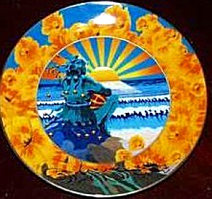 SUNSET JESTER GRATEFUL DEAD Artist STANLEY MOUSE Deadheads Psychedelic Greatful 60's (Image1)