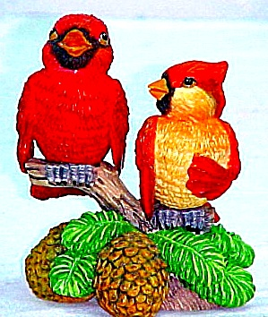 Endless Love Songs : Garden Romances Are Forever Cardinals Redbird by B. Cleaver (Image1)