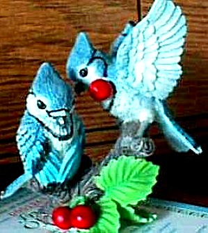 Fruits of Love : Garden Romances Are Forever Bluejays by B. Cleaver (Image1)