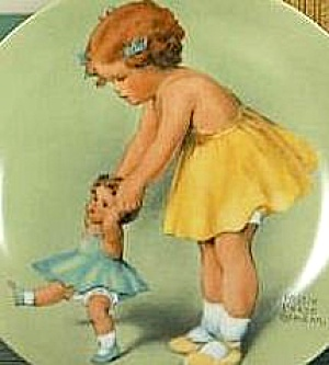 #2 FIRST STEP Little Mothers B.P.GUTMANN 1ST Victoriana China Rockford IL Girl Dolly (Image1)