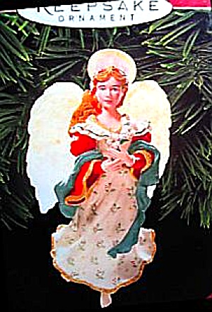 1999 Hallmark Keepsake Angel Song Design Robert Haas Sculptor Ladene Votruba #qx6939