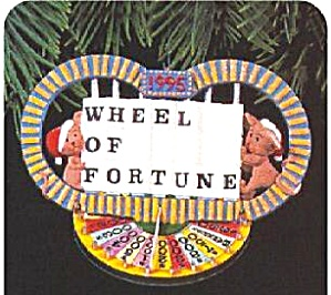Hallmark Keepsake Ornament Anniversary Edition Wheel of Fortune 1975 - 1995 QX6187 95 (Image1)