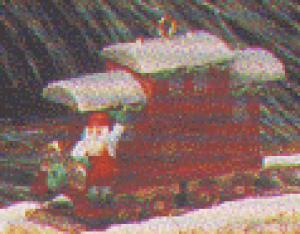 SCULP 1991-XPR973-3 CLAUS & CO. R.R. CABOOSE (Image1)
