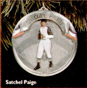 HALLMARK Baseball Heroes #3 SATCHEL PAIGE ORN (Image1)