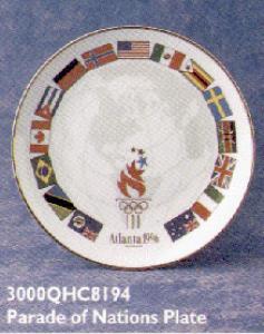 QHC8194 Olympic Atlanta '96 Parade Nations Pl (Image1)