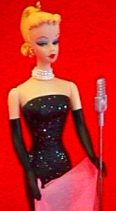 1995 QXI504-9 BARBIE SOLO IN THE SPOTLIGHT#2 Evening Gown Microphone Andrews (Image1)