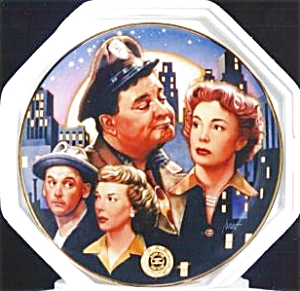 HONEYMOONERS 40TH ANNIVERSARY Drew Struzan Franklin Mint Viacom Gleason Carney Meadow (Image1)