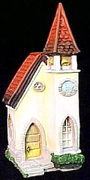 Bavarian Church Olszewski Goebel Hummel Along Kinder Way Kinderway #995-D 037370 (Image1)