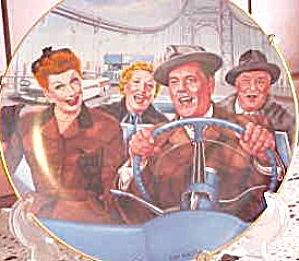 CALIFORNIA HERE WE COME - I LOVE LUCY TV SHOW (Image1)